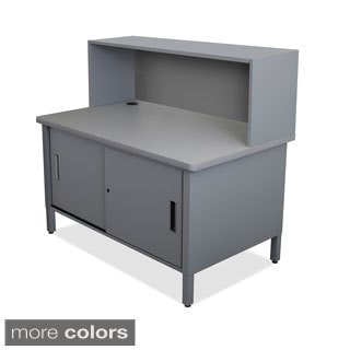 Marvel Mailroom Utility Riser Table Storage Cabinet