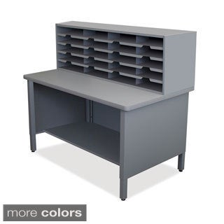 Marvel 20-slot Sorter Storage Shelf Mailroom Organizer (3 options available)