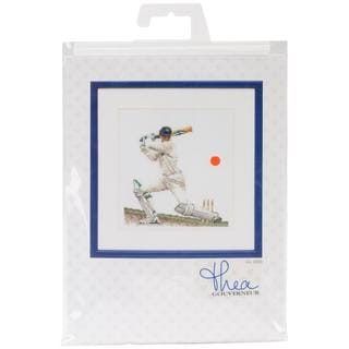 Cricket On Linen Counted Cross Stitch Kit - 6-1/4 X6-3/4 36 Count