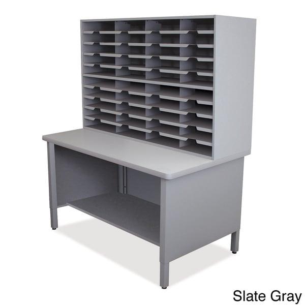 Marvel 40-slot Storage Shelf Mailroom Organizer