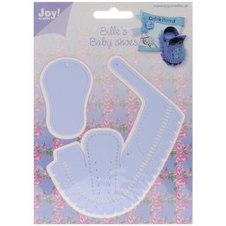 Joy! Crafts Cut & Emboss Die - Baby Shoe Boy