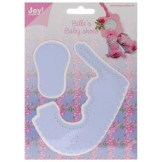 Joy! Crafts Cut & Emboss Die - Baby Shoe Girl