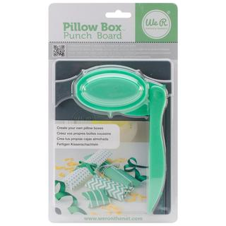 Pillow Box Punch Board -