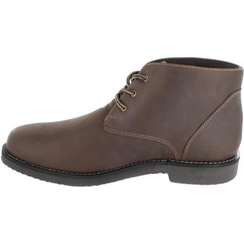 Shop Men S Nunn Bush Woodbury Brown Smooth Leather Free