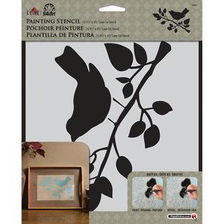 Folkart Painting Stencils 8.5 X10 - Bird