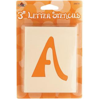 Mailbox Letter Stencils - Swashbuckle Letter 3