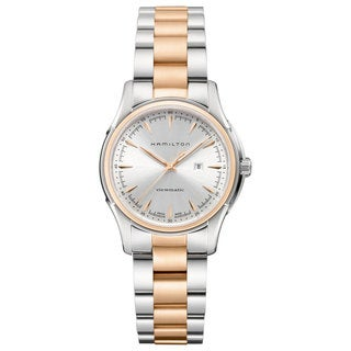 Hamilton Women's 'Jazzmaster Viewmatic' Two-tone Stainless Steel Watch