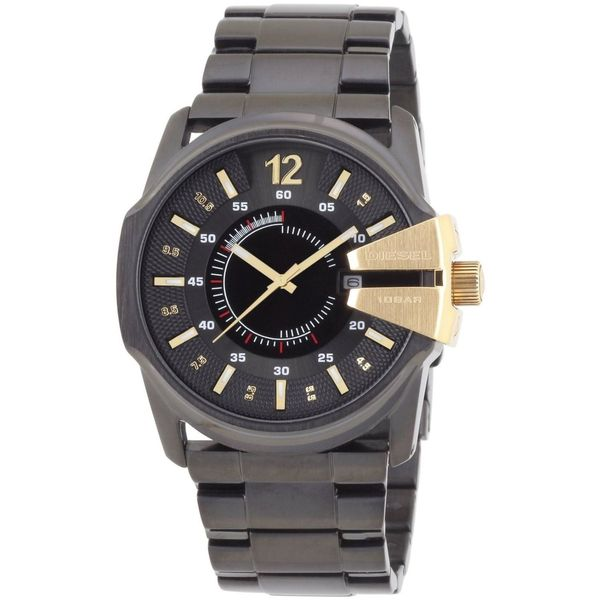Diesel Men's DZ1209 Master Chief Black Stainless Steel Watch - 1 Size. Opens flyout.