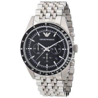 Emporio Armani Men's AR5988 Sportivo Silver Chronograph Watch|https://ak1.ostkcdn.com/images/products/8868594/Armani-Mens-Sportivo-Silver-Chronograph-Watch-P16094439.jpg?impolicy=medium