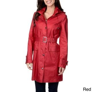 Women's 'Austin' Belted Short Coat