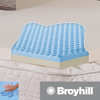 Broyhill Sensura Dual-layer 2-inch Gel Enhanced Memory Foam Mattress Topper