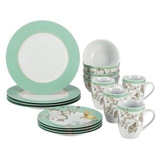 Shop Bonjour Fruitful Nectar 16 Piece Porcelain Dinnerware