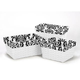 Sweet Jojo Designs Isabella Basket Liners (Set of 3)