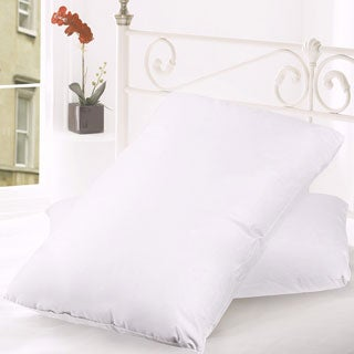 300 Thread Count Goose Feather and Down Pillow (Set of 2)