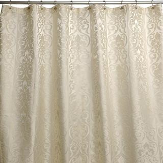 Shop Furla Damask Cream Shower Curtain Free Shipping On