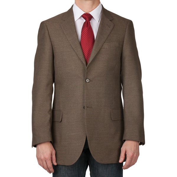 6748077fdb5 Shop Dockers Men's Tan Blended Fabric 2-button Sportcoat - Free ...