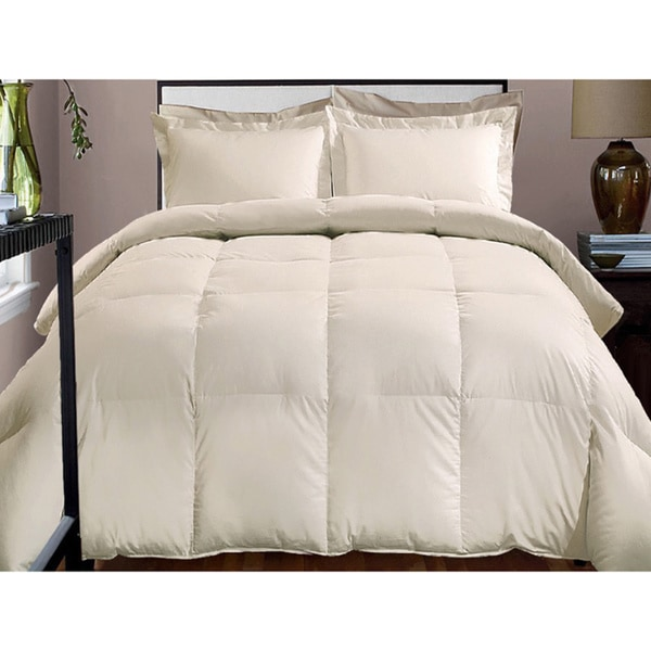Hotel Grand 800 Thread Count Cotton Rich Down Alternative Comforter