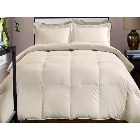 Hotel Grand 800 Thread Count Cotton Rich Down Alternative Comforter