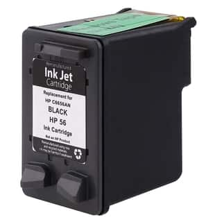 Insten Black Remanufactured Ink Cartridge Replacement for HP C6656A/ 56|https://ak1.ostkcdn.com/images/products/8869543/BasAcc-Black-Remanufactured-HP-56-C6656AN-Ink-Cartridge-for-HP-DeskJet-Printers-P16095275.jpg?impolicy=medium