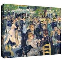 Pierre Renoir 'Ball at the Moulin de la Galette' Gallery-wrapped Canvas