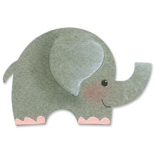 Sizzix Originals Die 4.75 X2.75  - Elephant #2