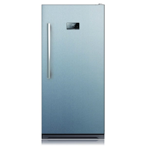 13.7-cubic Foot Stainless Steel Upright Freezer - Free