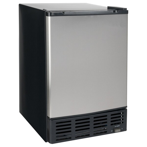 Equator Midea Stainless Steel 1-cubic-foot Ice Maker