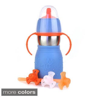 Kid Basix 11-ounce The Safe Sippy 2-in-1 Cup