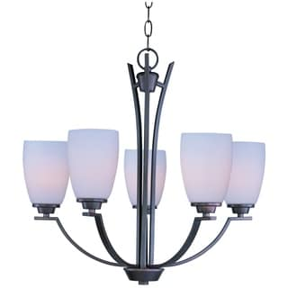 Maxim Rocco 5-light Oil Rubbed Bronze Chandelier