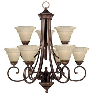 Maxim Brighton 9-light Oil Rubbed Bronze Chandelier