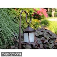 Shepherd's Hook Solar Lantern