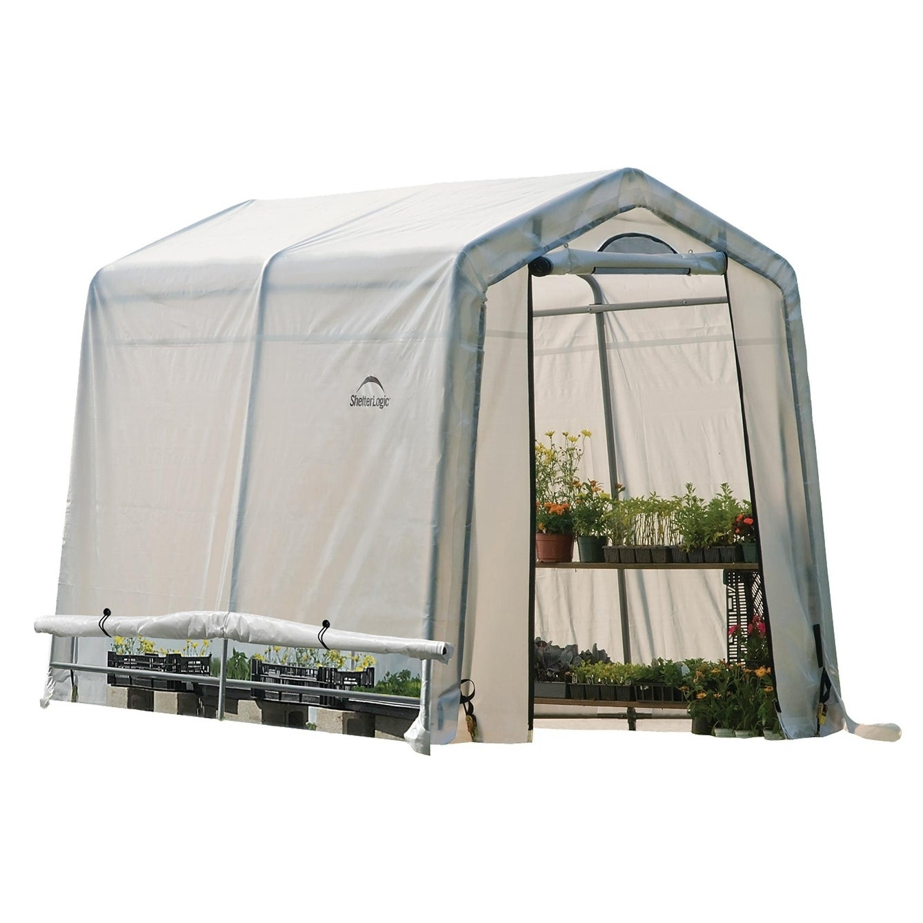 ShelterLogic Shelter Logic Greenhouse-in-a-box Easy Flow ...