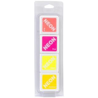 Hero Arts Dye Inks 4 Color Cubes - Neon 2