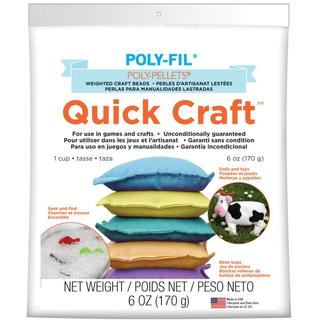 Quick Craft Weighted Poly-Pellets 6oz - White