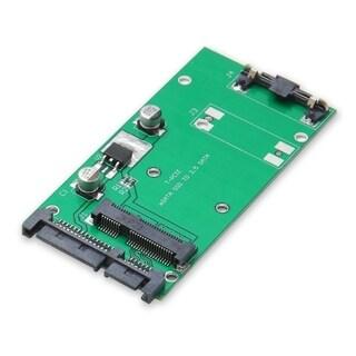 IOCrest 70mm 2.5-inch Mini SATA SSD to standard 2.5-inch SATA interface Adapter