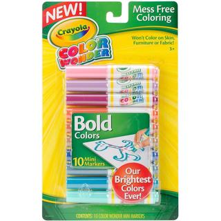 Crayola Color Wonder Mini Markers - Bold