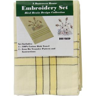 Bee Skep Bird Brain Design Collection Embroidery Set -