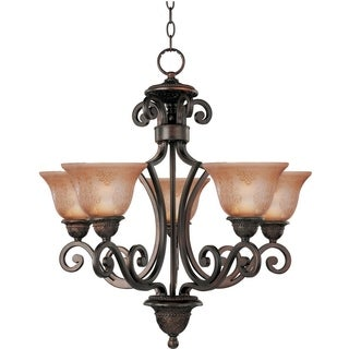 Maxim Symphony 5-light Oil Rubbed Bronze Chandelier
