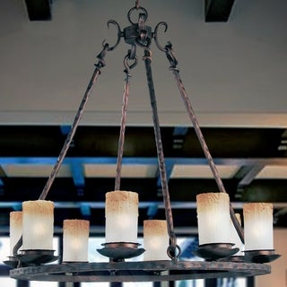 Maxim Notre Dame 8-light Oiled Bronze Chandelier