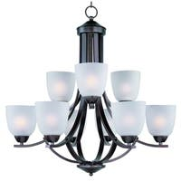 Maxim Axis 9-light Oil Rubbed Bronze Chandelier