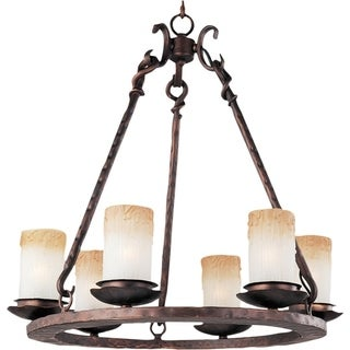 Maxim Notre Dame 6-light Oil Rubbed Bronze Chandelier