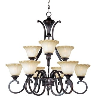 Maxim Allentown 9-light Oil Rubbed Bronze Chandelier
