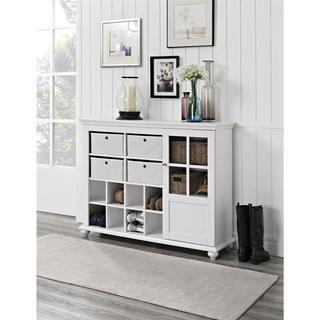 Ameriwood Home Reese Park 4-bin Storage Cabinet