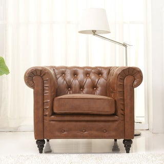 Gold Sparrow Arlington Chestnut Arm Chair