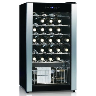 Equator-Midea Black 33-bottle Wine Cooler