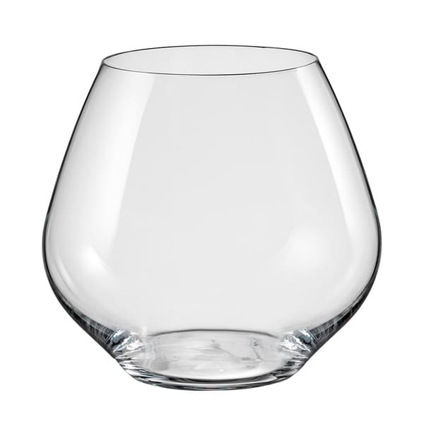 shop red vanilla saloma stemless white wine glasses set of 6 free shipping on orders over. Black Bedroom Furniture Sets. Home Design Ideas