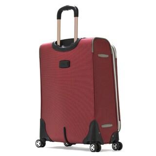 Olympia Tuscany 2-piece Expandable Spinner Luggage Set