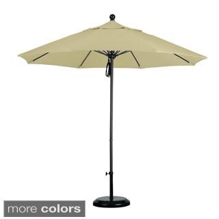Lauren & Company Commercial Grade 9-foot Sunbrella Aluminum Umbrella with Stand