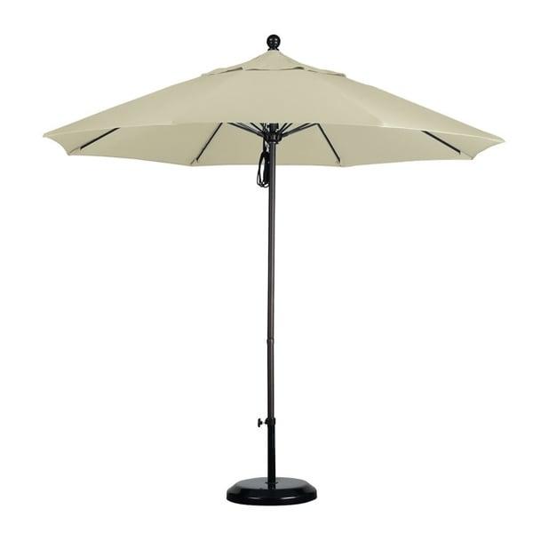 Shop Commercial Grade 9 Foot Sunbrella Aluminum Umbrella With Stand