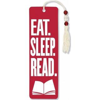 Eat, Sleep, Read Beaded Bookmark (Bookmark)